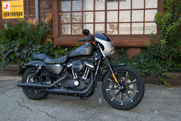 Harley-Davidson Iron883 アルミ製ビキニカウル