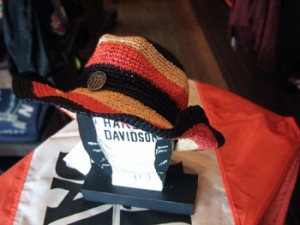 97710-14VW: Striped Cowboy Hat