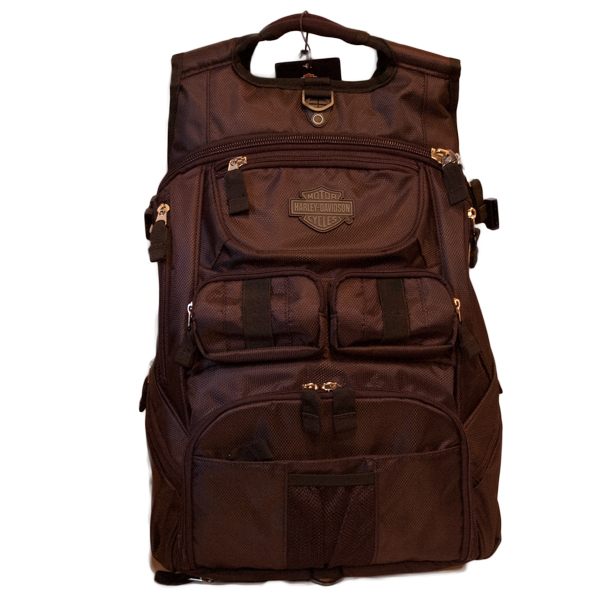 99413-15VM bar and shield logo backpack
