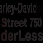 Street 750用フェンダーレスキット
