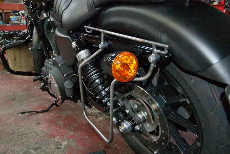 TERADA MOTORS Saddlebag Support for Sportster Models BS-B1
