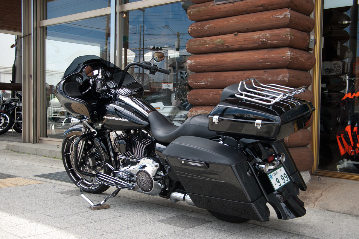 Harley Davidson customized road glide special