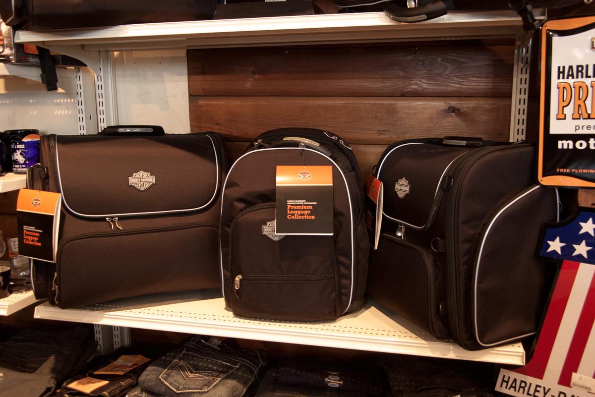 Harley-Davidson premium touring luggage