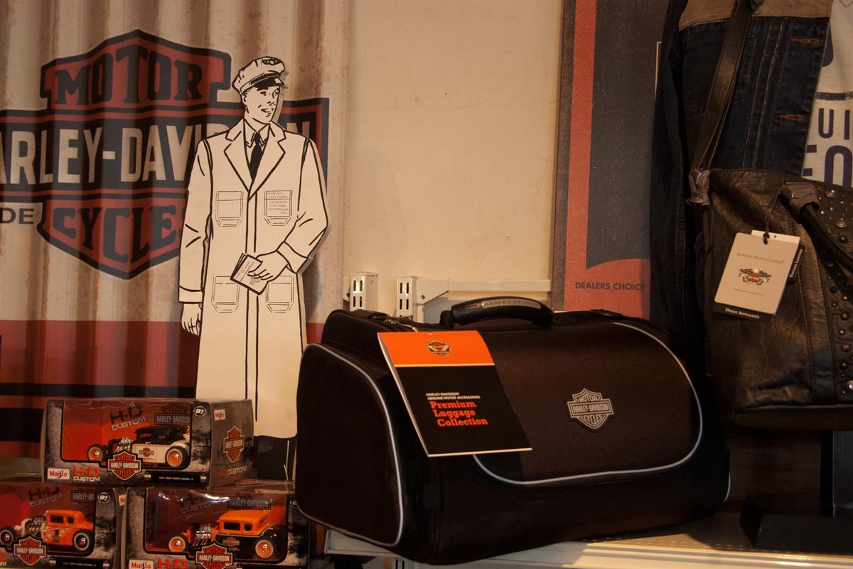 Harley-Davidson touring bags