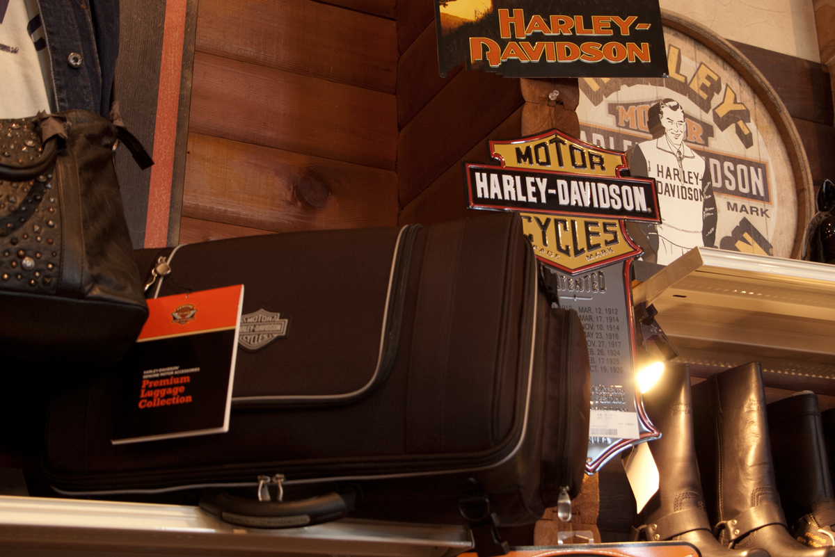 Harley-Davidson Terada Motors luggage collection