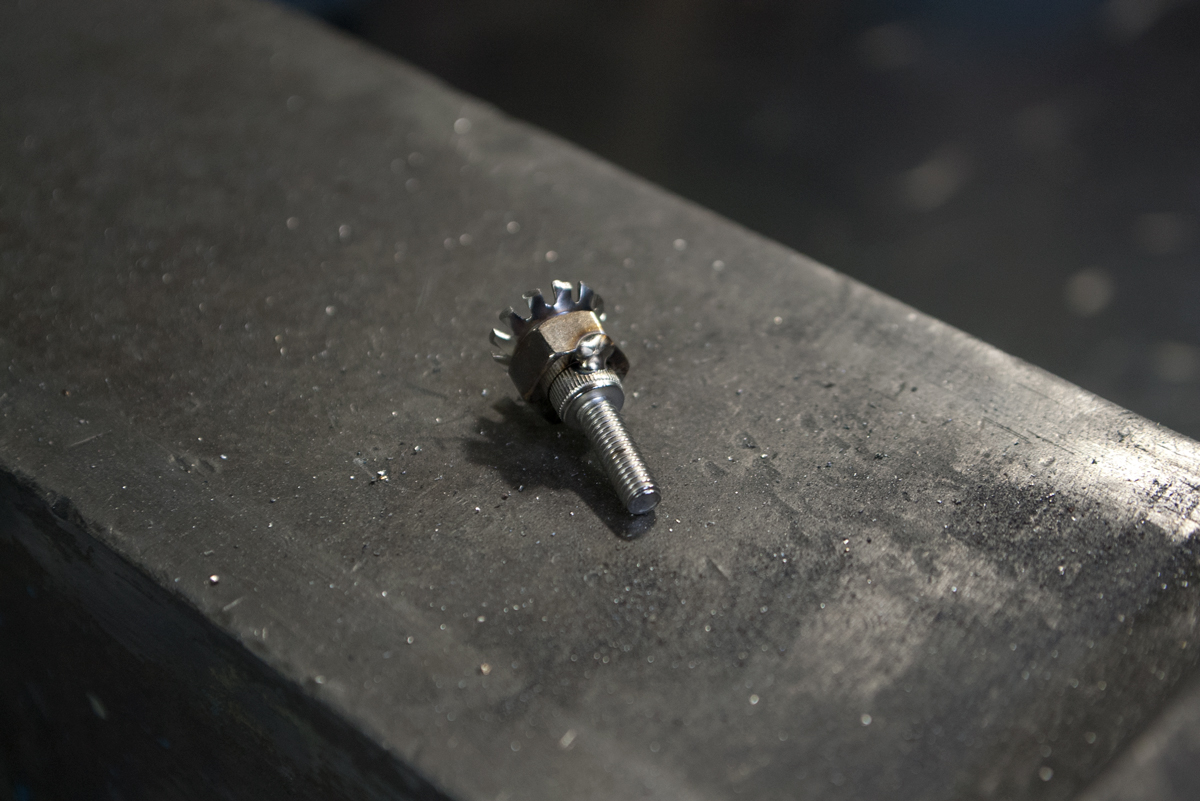 Harley-Davidson injector tuning bolt for sportster