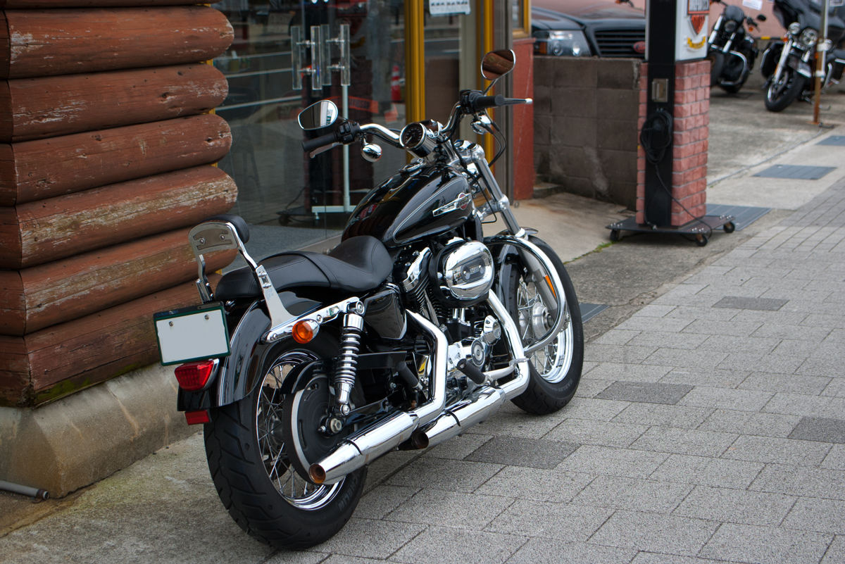 used 2013 XL1200C Custom