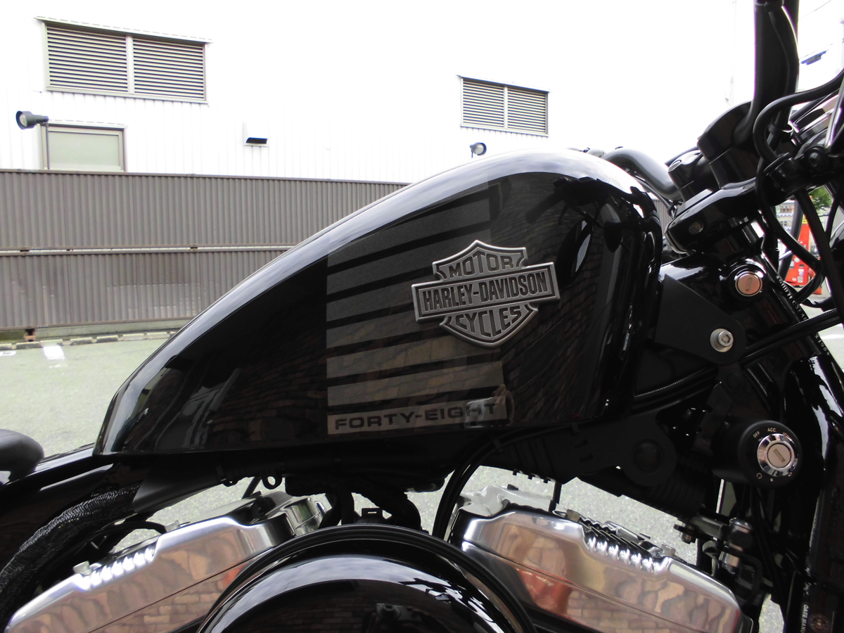 used harley-davidson forty eight