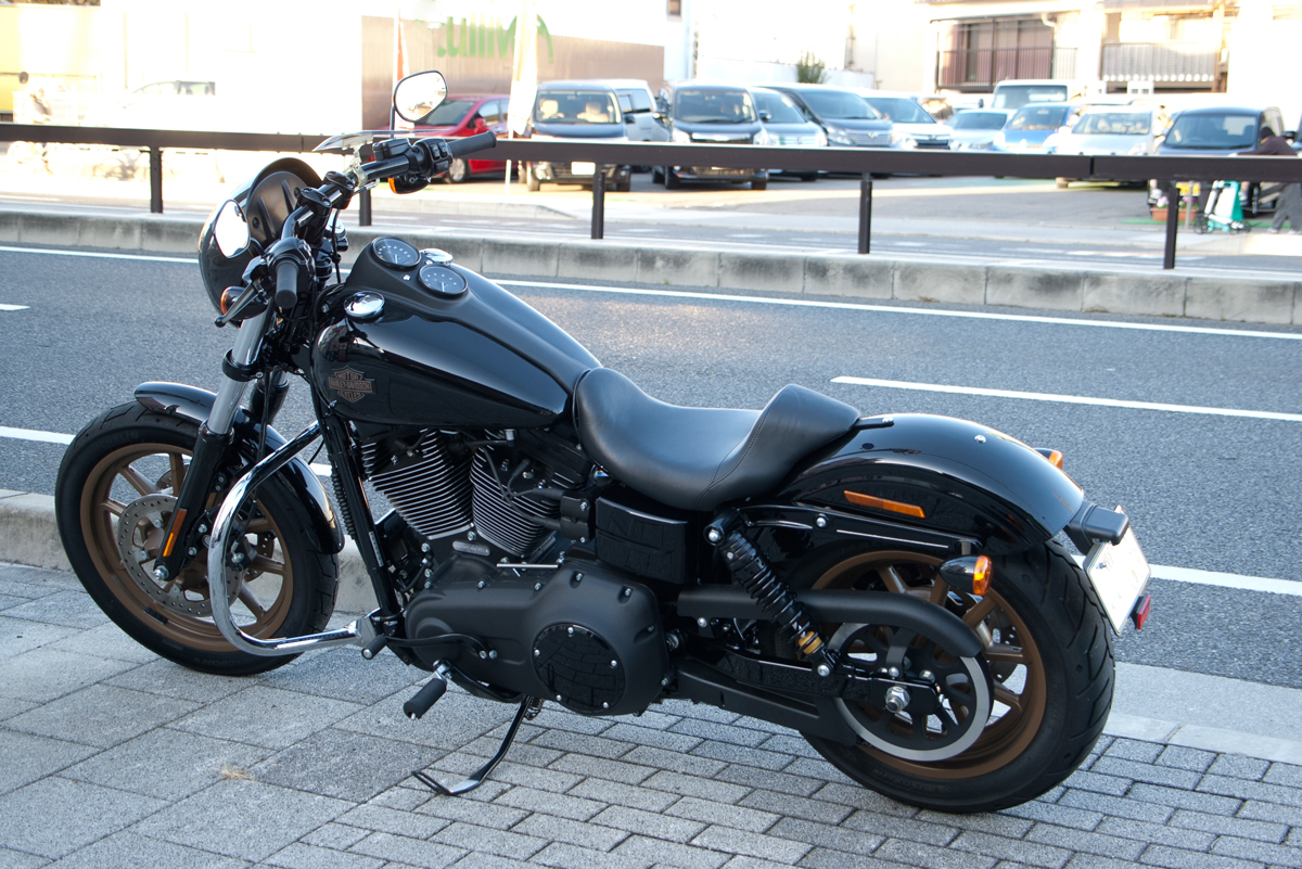 Harley Dyna License Plate Relocation Kit