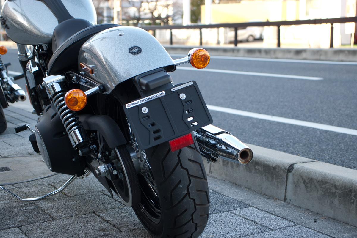 Harley-Davidson Street Bob license plate