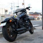 Harley-Davidson ダイナ用フェンダーレスキット<br>取付例:ローライダーS