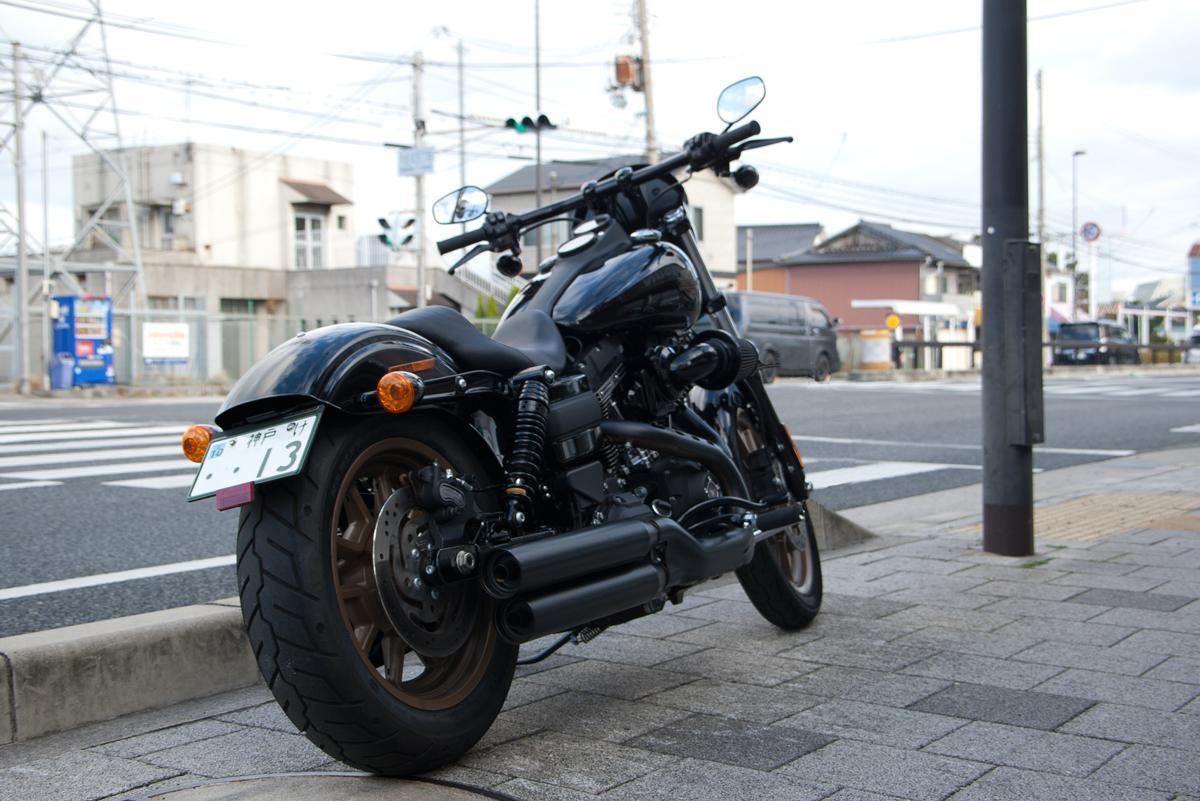 Harley-Davidson dyna low rider s rear fender