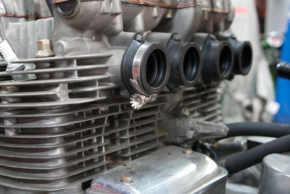 kawasaki kz1000A2 インジェクターチューニングボルト