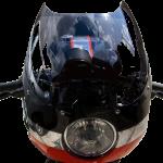 Harley-Davidson XR-O prototype-1: アルミ製フェアリング