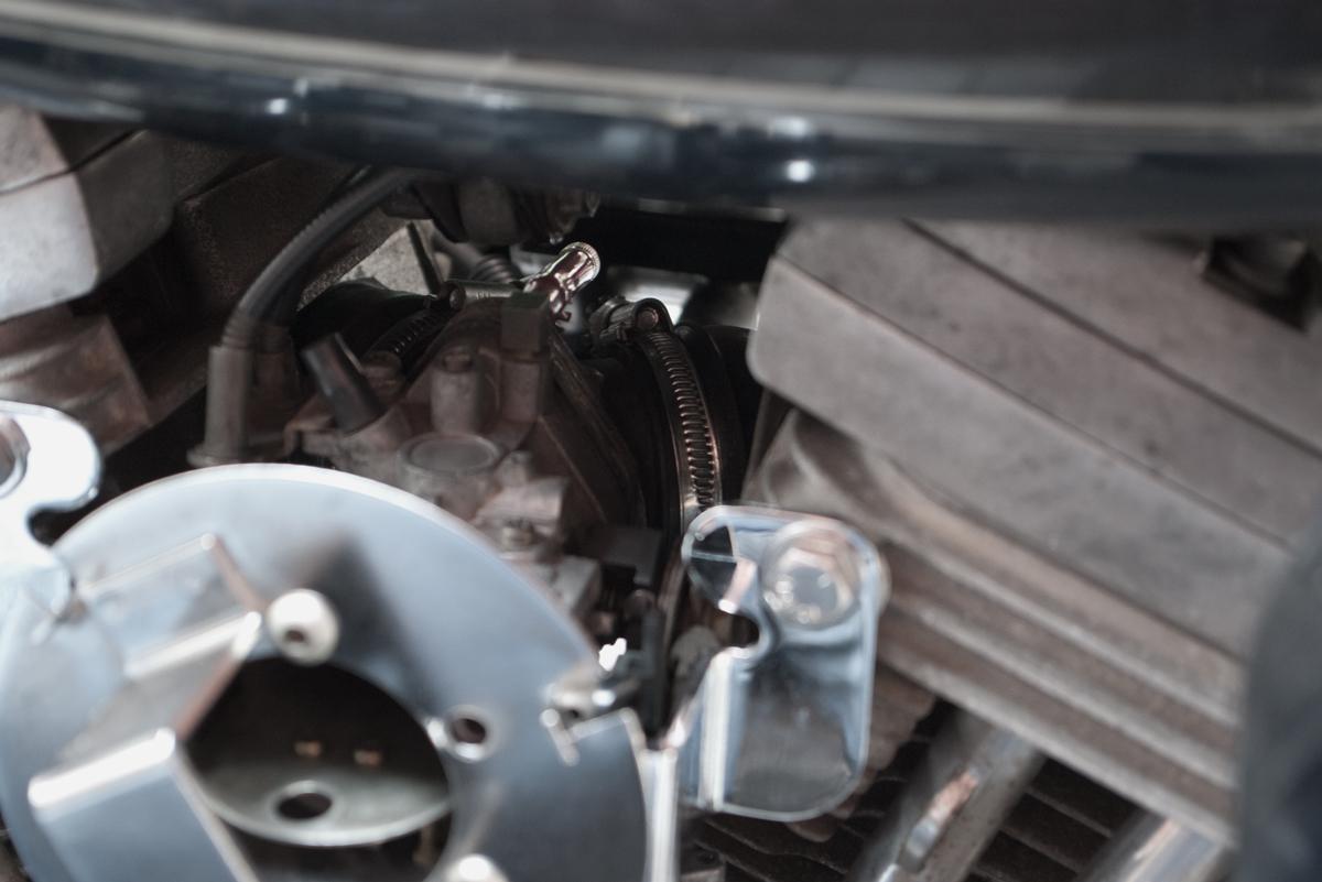 Harley-Davidson FXRD インジェクターチューニングボルト