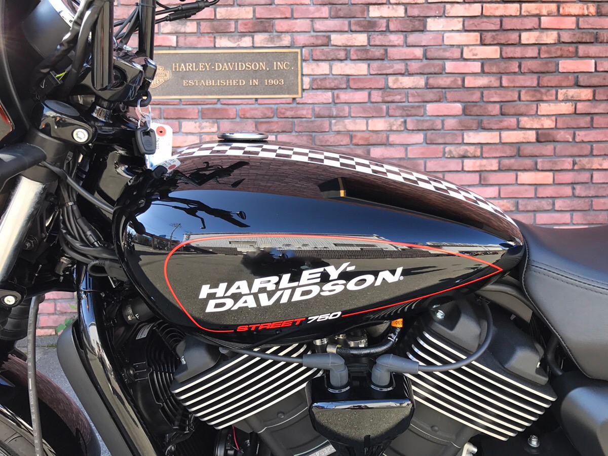 ハーレー中古車2016 ストリート750