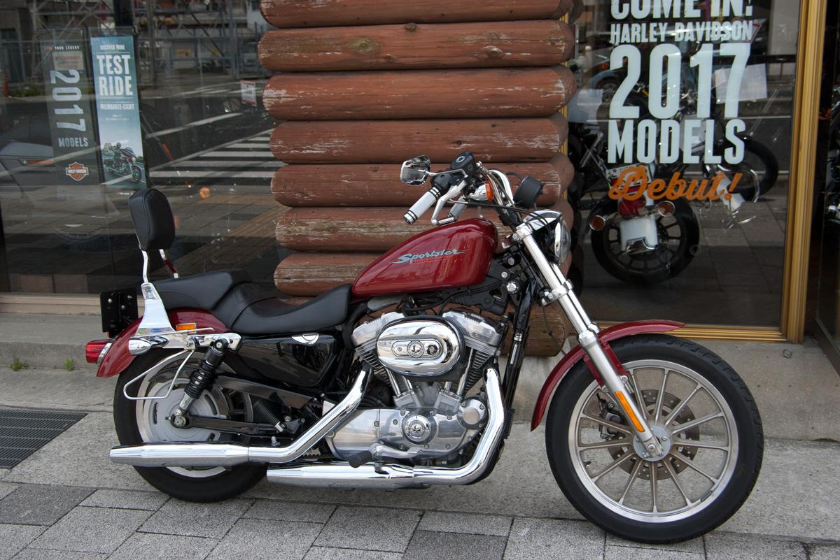 ハーレー中古車2007 sportster XL883