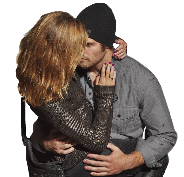 harley davidson man and woman