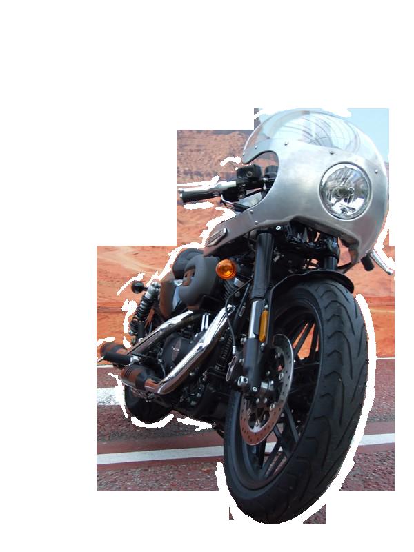 Harley-Davidson ロードスター アルミ製フェアリング