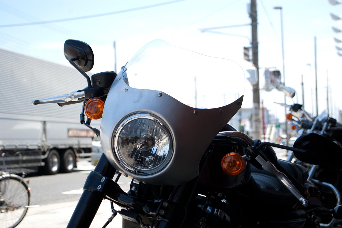 Harley-Davidson XL1200CX aluminum fairing ロードスター用アルミフェアリング