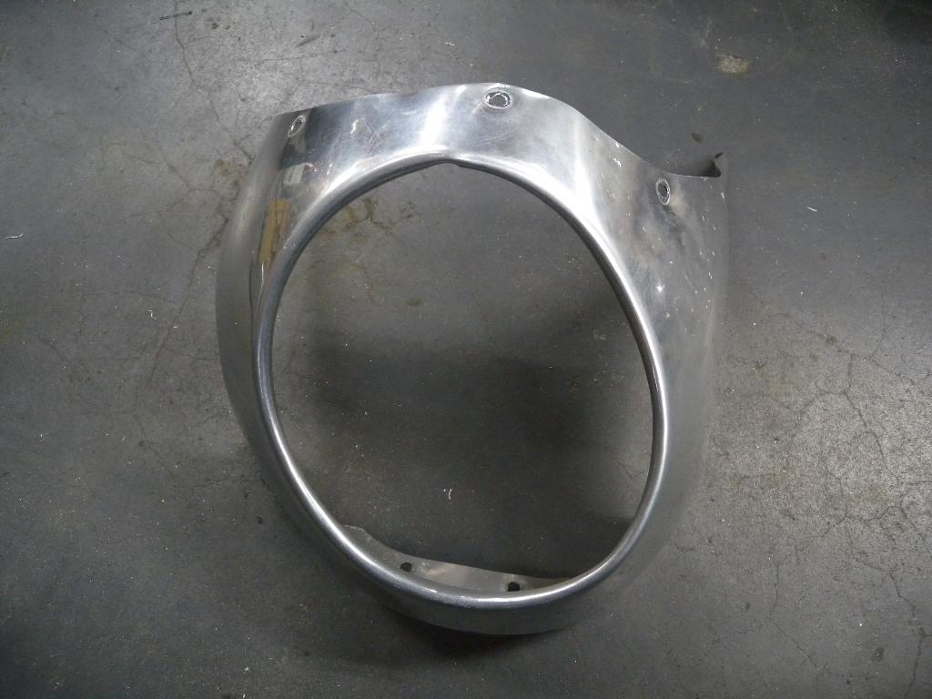 アルミ製ビキニカウル修理 repair of aluminum fairing