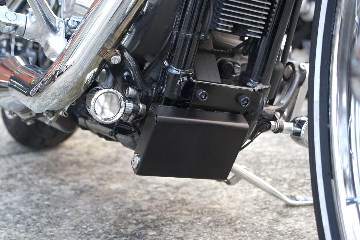 2013年XL1200V セブンティーツー ETCロックケース