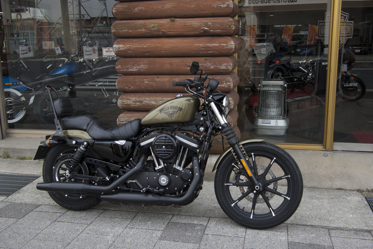 2017年 Harley davidson sportster iron 883
