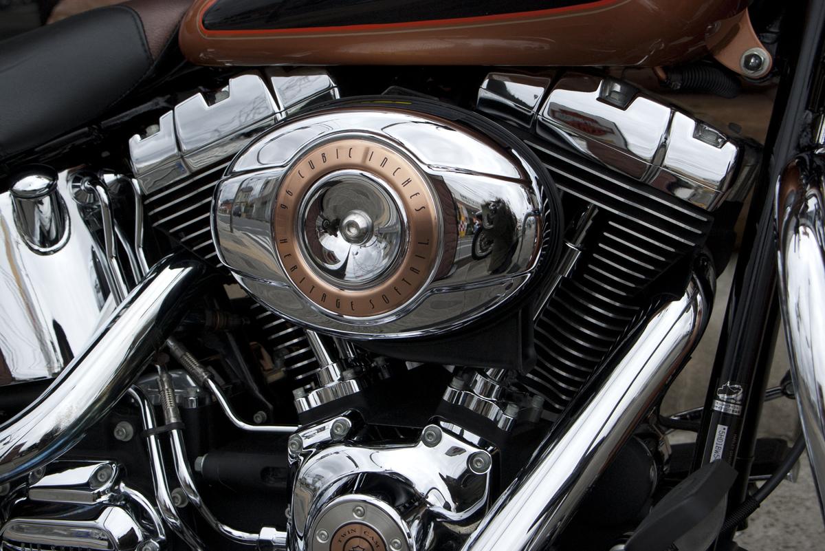 2008年 Harley davidson FLSTC 105 anniversary