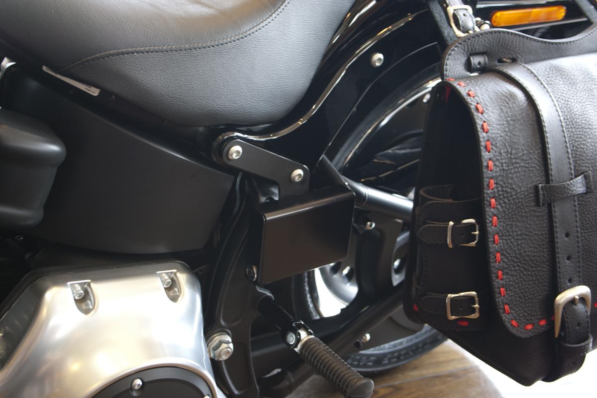 ハーレーダビッドソンETC車載器用アルミ製ハードケース