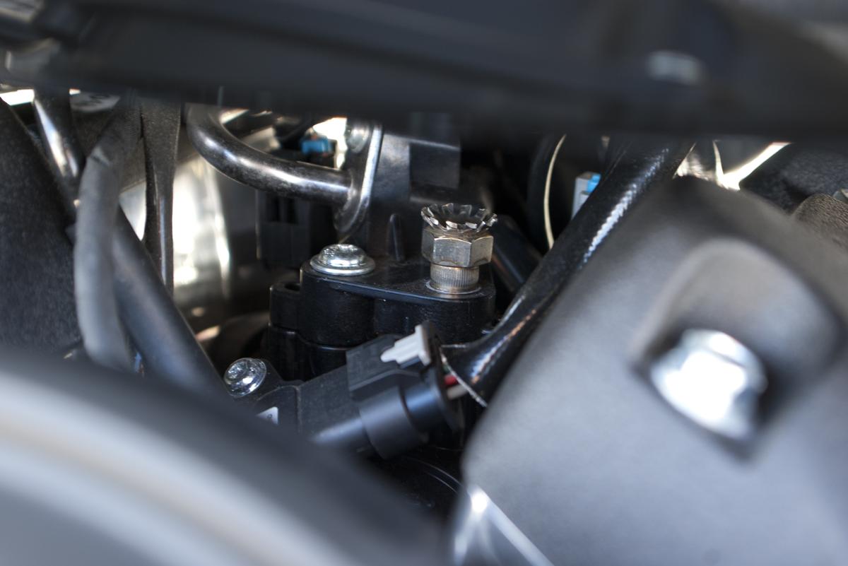 インジェクターチューニングボルト ミルウォーキーエイト ソフテイル 取り付け例