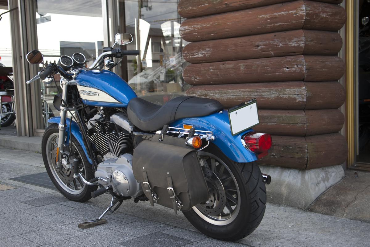 ハーレーダビッドソン XL1200R ロードスター ブルー
