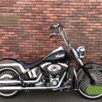 """<font style=""""font-size:90%;"""">2008年 FLSTN Softail Deluxe<br><font style=""""font-size:50%;"""">車両本体価格:</font>169<font style=""""font-size:50%;"""">万円</font> / <font style=""""font-size:50%;"""">走行距離:</font>22,219<font style=""""font-size:50%;"""">km</font></font><font style=""""color:red;font-size:80%;"""">sold out</font>"""
