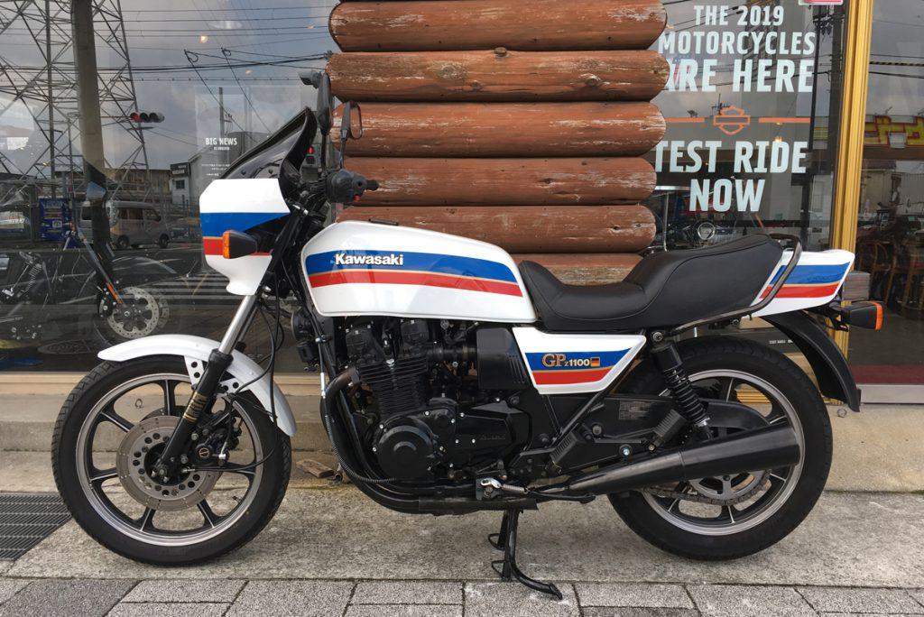 kawasaki z1100gp 1982年