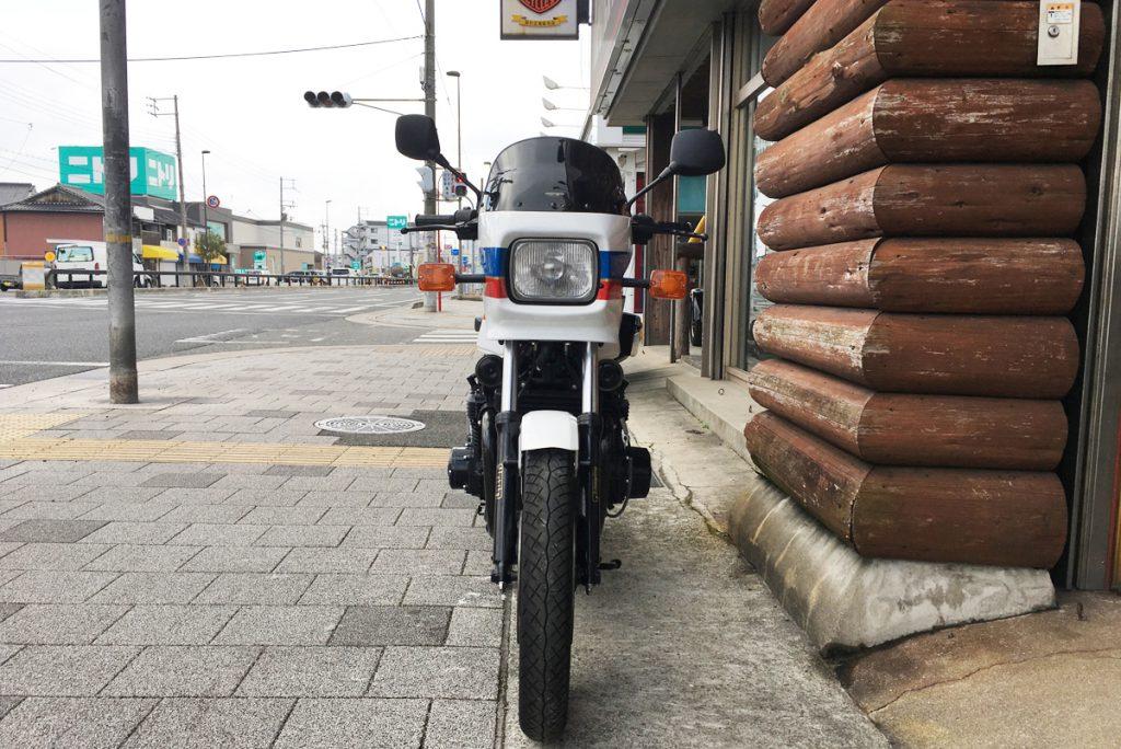 kawasaki z1100gp ビキニカウル