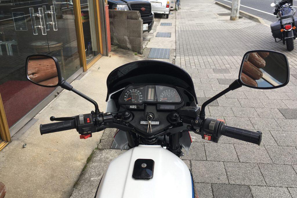 kawasaki z1100gp スピードメーター width=