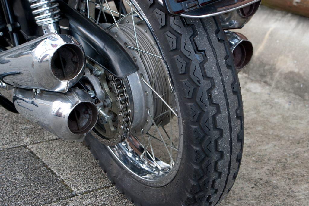 Kawasaki 1974 Z2 リアホイール