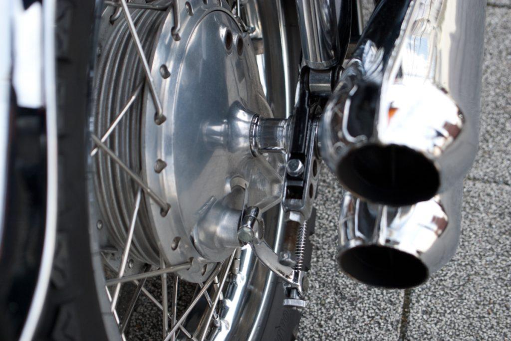 1975年 Kawasaki Z1B ドラムブレーキ