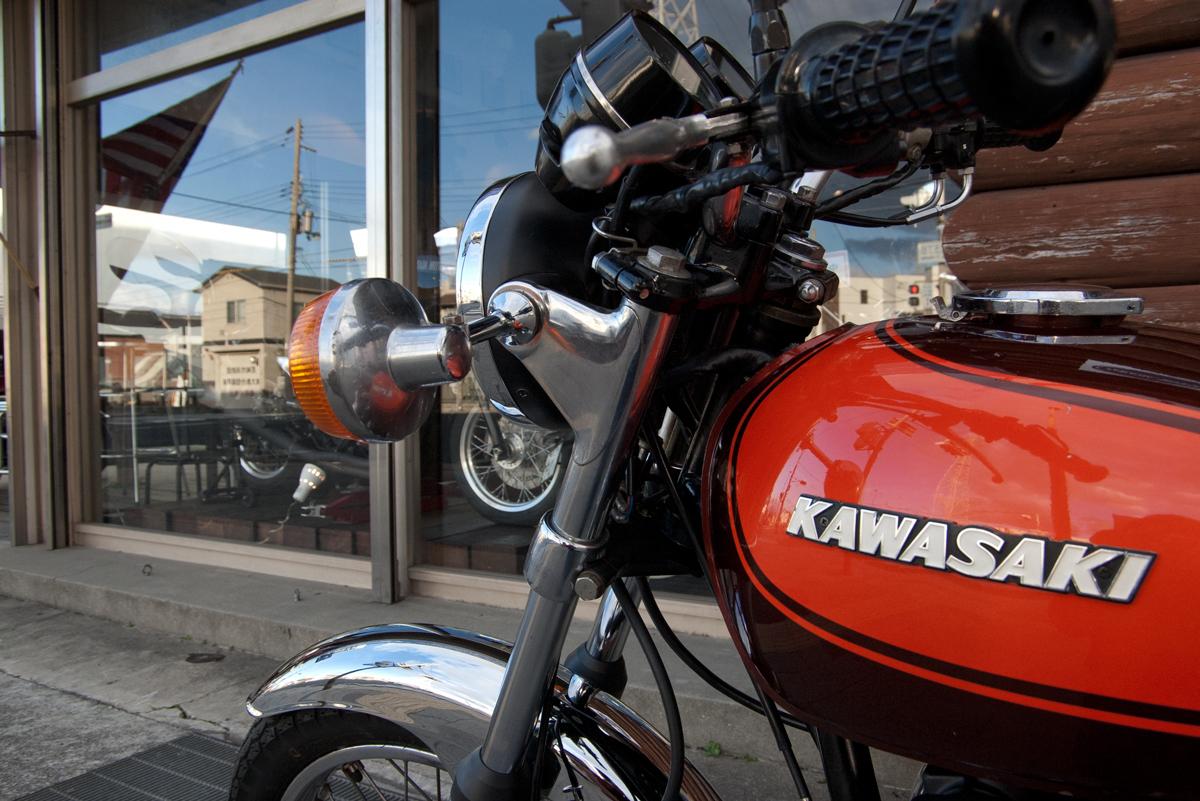 kawasaki z1 ガソリンタンク