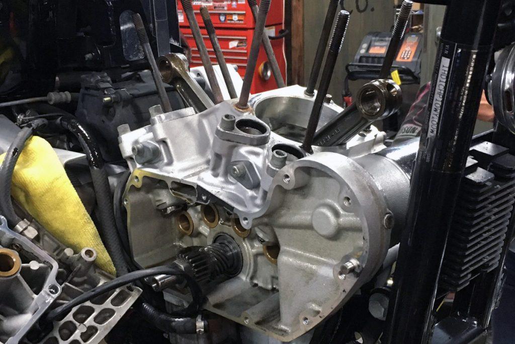 スポーツスター XL1200S クランク修理