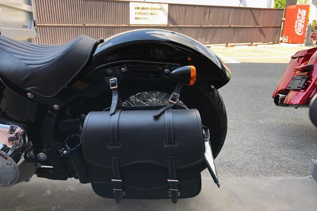 ハーレーダビッドソン FLS ソフテイルスリム サイドバッグ