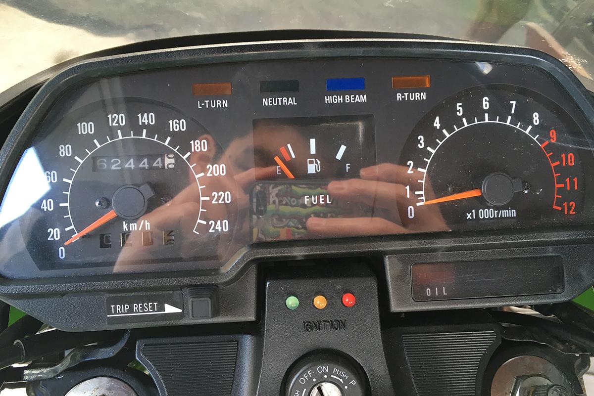 Z1000R-2 メーター