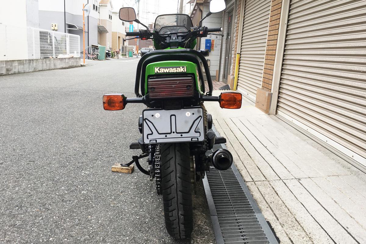 1983 Kawasaki Z1000R2 sebring マフラー