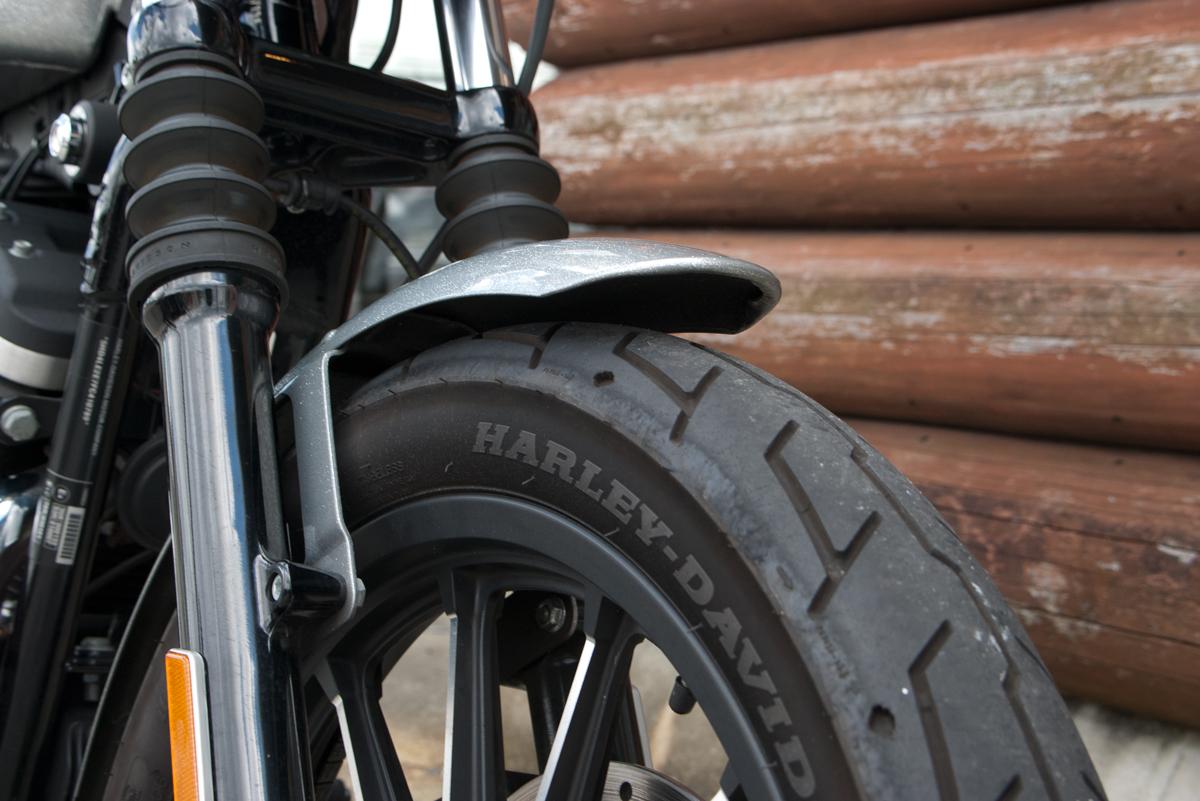 iron 883 フロントフェンダー