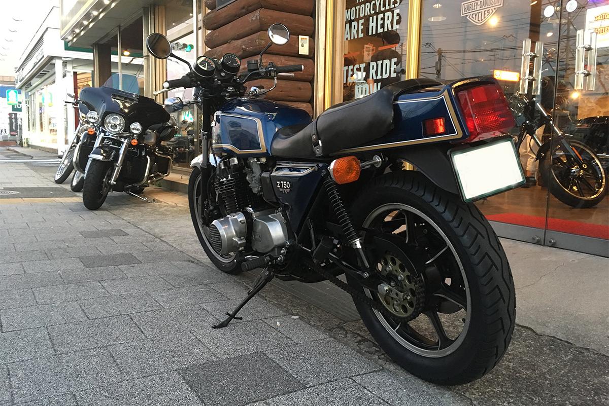 Z750FX-1 D2(前期モデル) ホイール