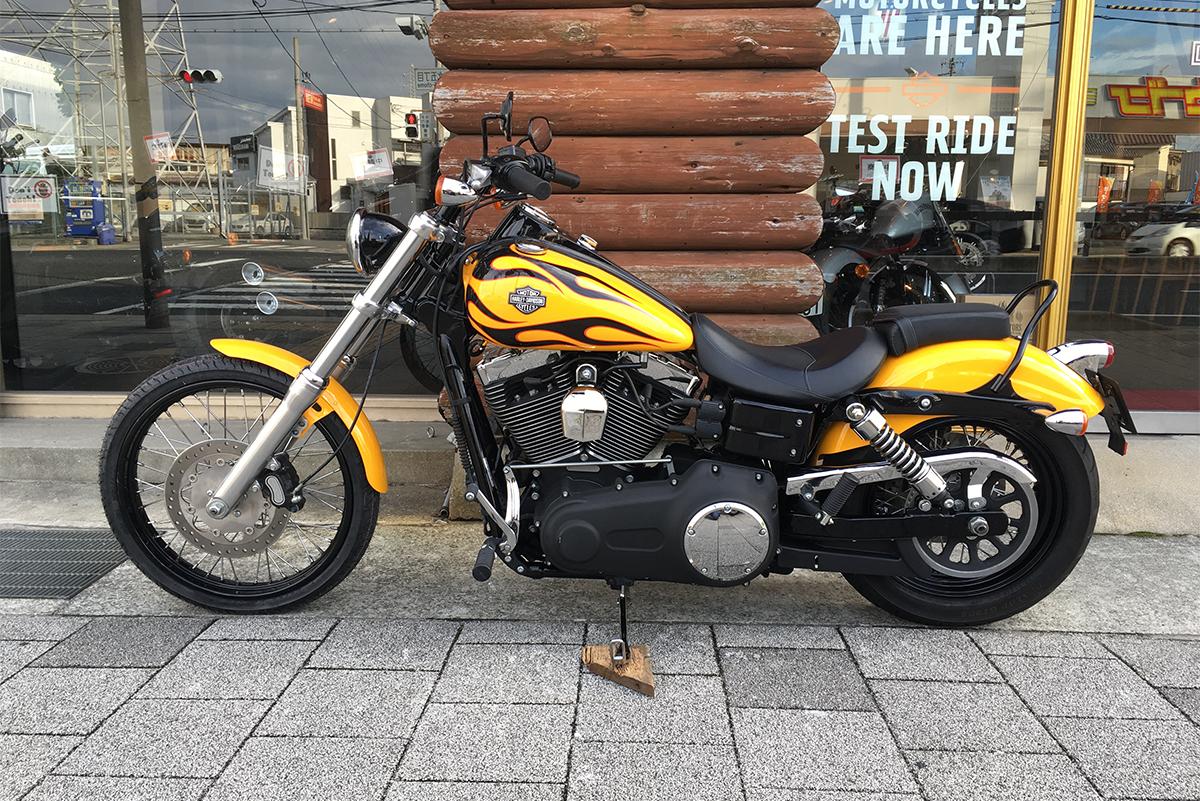 ハーレーダビッドソン 2011年モデル FXDWG