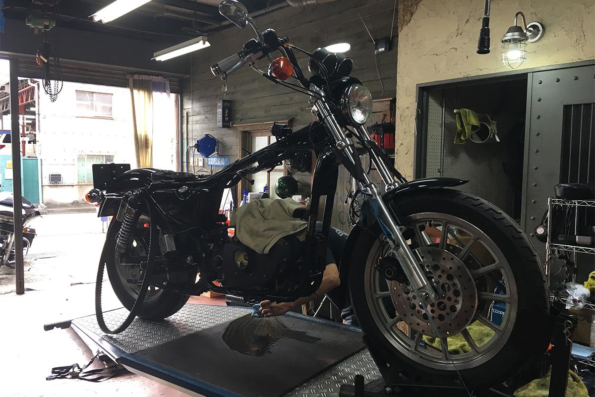 XL1200S 修理