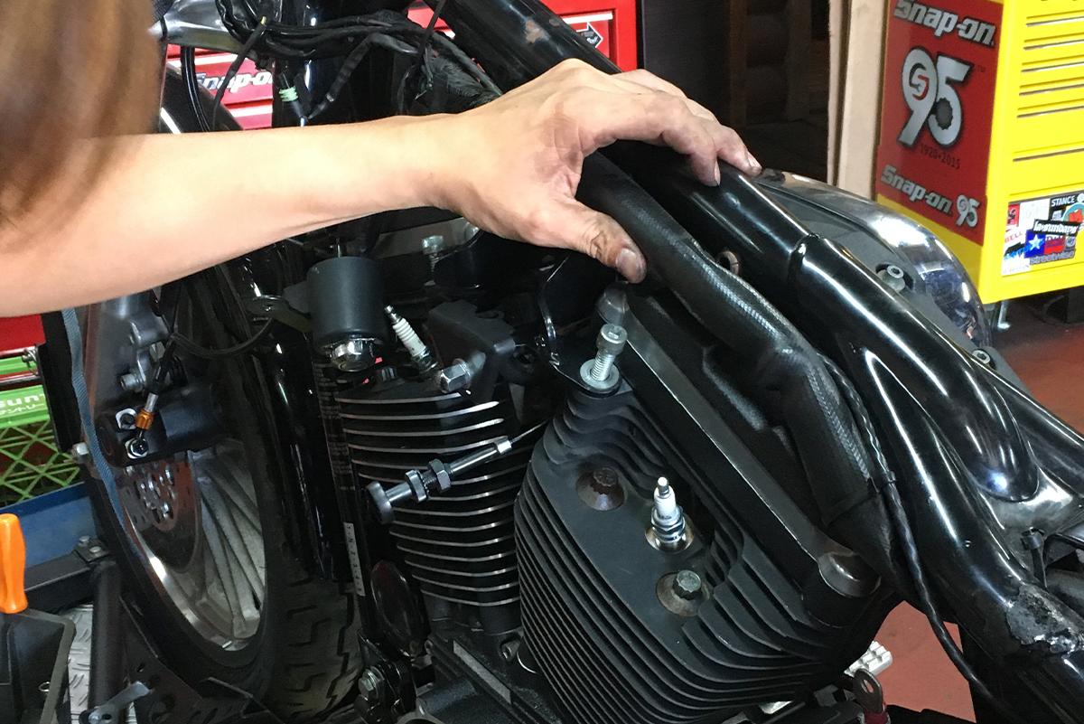 XL1200S エンジン オーバーホール