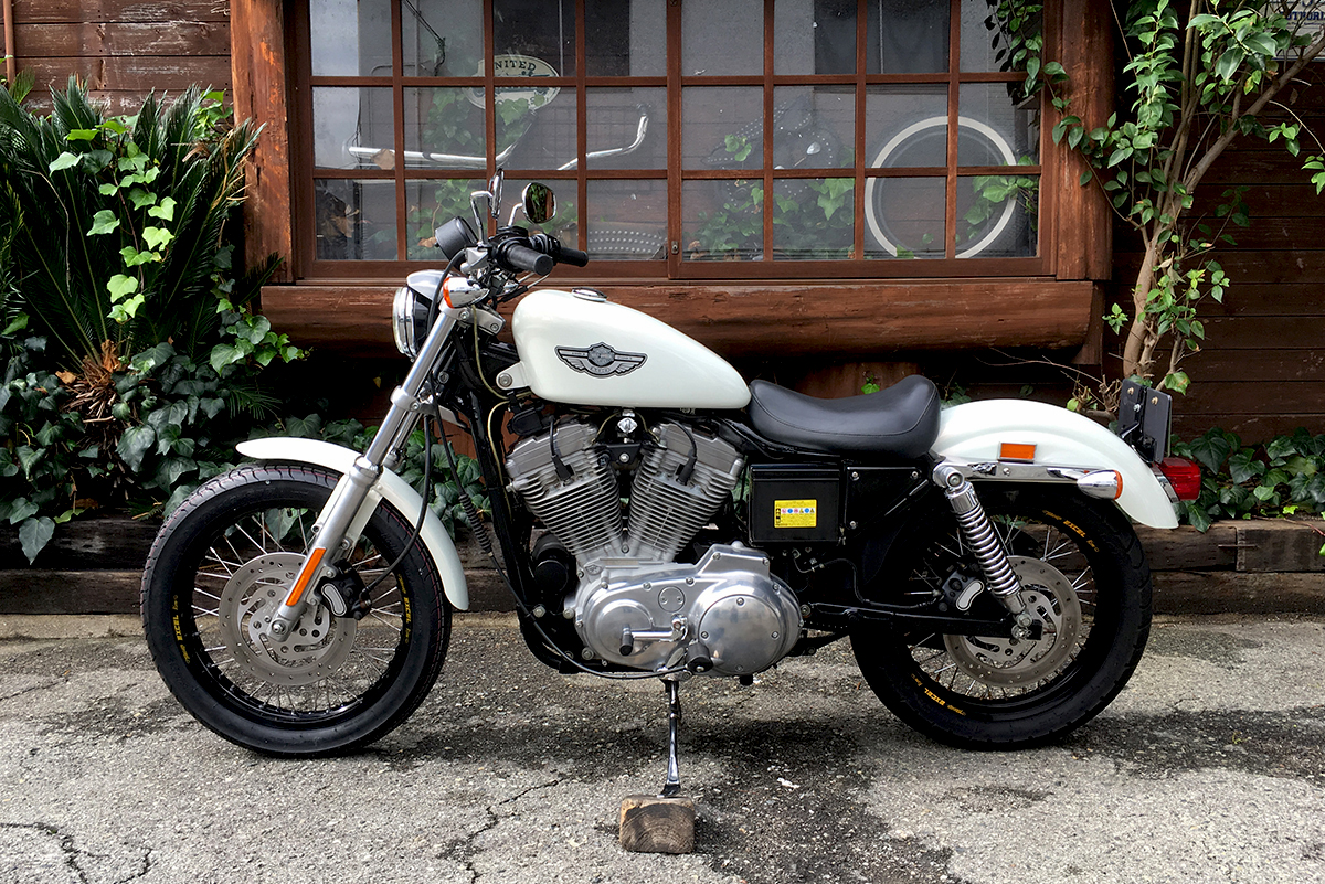 Sportster XLH883 100周年