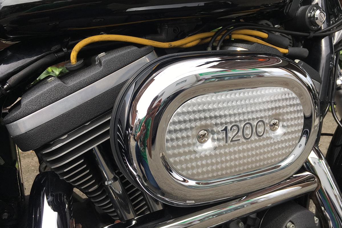スポーツスター 1200S エアクリーナー