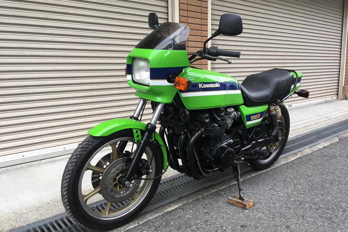 kawasaki z1000r2 ローソンカラー